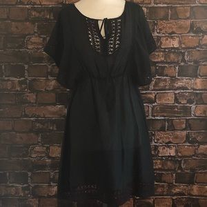 Anthropologie HD Paris Black Dress
